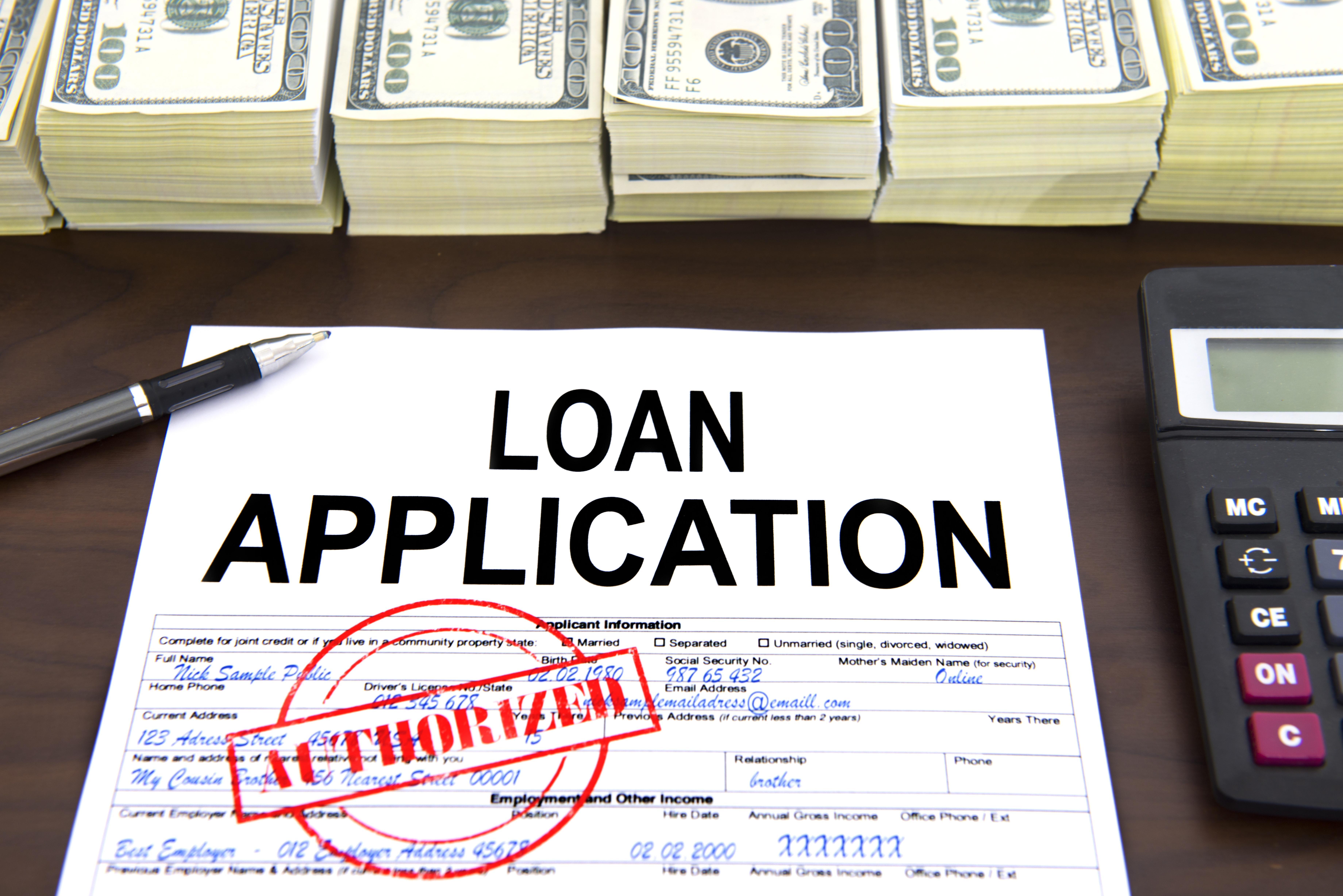 Working Capital Loan Application