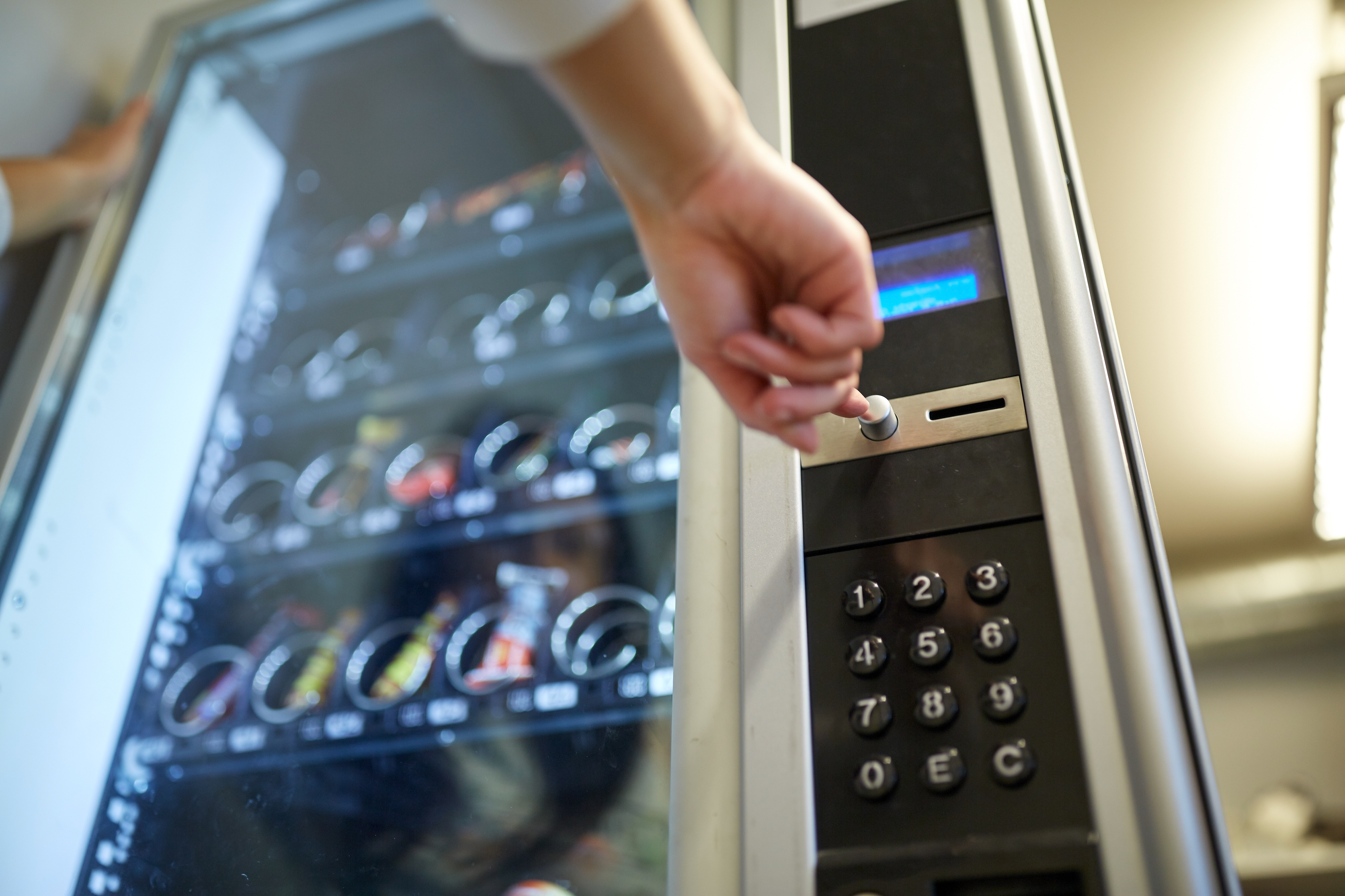 Vending Machine Equipment Leasing