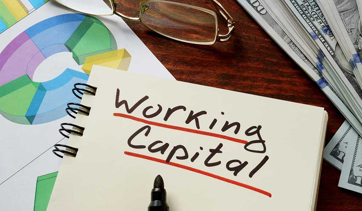 Working-capital-concept-on-a-paper-with-charts-image